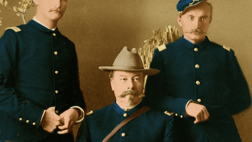 10 US Cavalry Officers Colored Sepia!!.jpeg