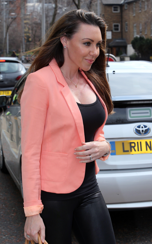 Michelle Heaton  - ITV  Studios 22nd Apr 2013 (8).jpg